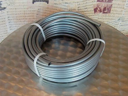 8mm I.D. Plastic Silver Grey Tubing For Mechanical Organ Building